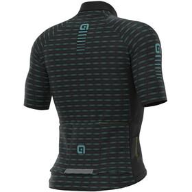Alé Cycling Graphics PRR Green Road Kurzarm Trikot Herren black/turquoise